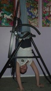 """""""My daughter in law, Amber, suffered a back injury in an accident and finally, with use of the inversion table, she is pain free!"""""""
