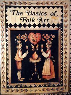 Los fundamentos del arte folklórico Vol. 1 de Tole por NeedANeedle