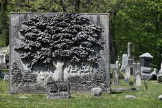 Unusual Tree Grave