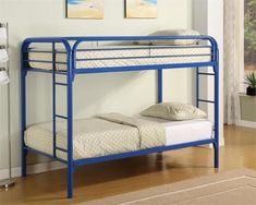 Coaster Fordham Twin Over Twin Bunk Bed Las Vegas Furniture Online | LasVegasFurnitureOnline | Lasvegasfurnitureonline.com