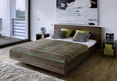 Stunning Rustic Floating Style Bed Frame in Full Size Bed Design, House Design, Adjustable Bed Frame, Master Bedroom, Bedroom Decor, Mattress Frame, Floating Bed, Bed Styling, Simple Designs
