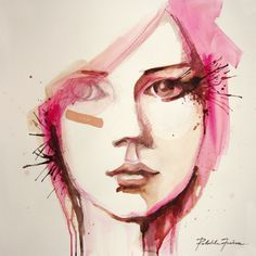 Find Watercolor Portrait Beautiful Girl Handmade Self stock images in HD and millions of other royalty-free stock photos, illustrations and vectors in the Shutterstock collection. Thousands of new, high-quality pictures added every day. Poster Art, How To Make Paint, Thing 1, Watercolor Portraits, Hand Painting Art, Watercolour Painting, Pencil Portrait, Art Techniques, Art Girl