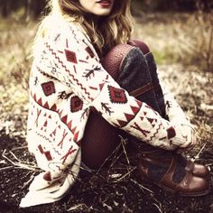 Autumn. That cardigan is awesome