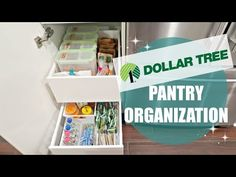 (103) ORGANIZE & DECLUTTER WITH ME 2017 // DOLLAR TREE PANTRY ORGANIZATION // DECLUTTER!! - YouTube
