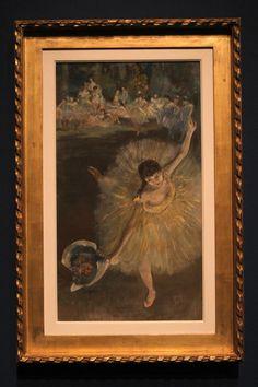 Degas, Fin d'arabesque (Ballerina con bouquet), 1877. Alla Promotrice di Belle Arti di #Torino fino al 27 gennaio 2013