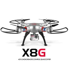 SYMA X8G Upgraded of SYMA X8 X8C Quadcopter Drones with Camera HD 5MP Headless Mode RC Helicopter Quadrocopter Drone with Camera //Price: $US $122.08 & FREE Shipping //     #clknetwork