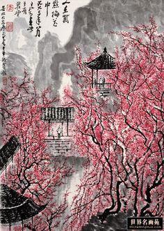 LI KERAN http://www.widewalls.ch/artist/li-keran/ #contemporary #art #painting