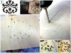 DIY Tablet Holder Tutorial ~ scroll saw design {Sawdust and Embryos}