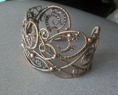 Summer Breeze cuff | JewelryLessons.com