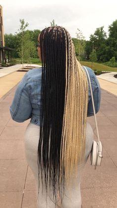 Black Girl Braided Hairstyles, African Braids Hairstyles, Weave Hairstyles, Short Hair Styles, Natural Hair Styles, Braid Styles, Honey Hair, Baddie Hairstyles, Braids For Black Hair