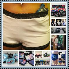 Lots of ways to wear an insulin pump http://www.pumpwearinc.com/pumpshop/  #insulinpump #type1