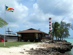 The Seychelles Islands Foundation operates a scientific research station at Picard Island on Aldabra Atoll, Seychelles. David Stanley, Seychelles Islands, Island Lighting, North Africa, Lighthouses, South America, Caribbean, Mexico, Around The Worlds
