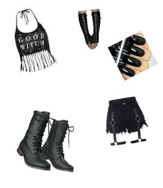 """goth outfit"" by monsterhigh837 on Polyvore featuring Topshop and Mossimo Supply Co."