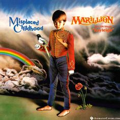 Marillion - Misplaced Childhood animated cover artwork by www.animatedcovers.com #marillion #fish #progrock #rock #animatedcovers #gifs #animatedgifs #gifcovers