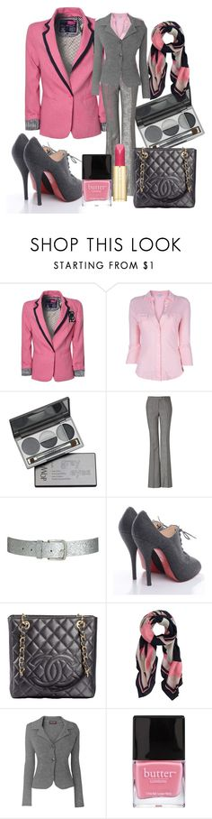"""""""Sweet Pink!"""" by cristinacordeiro ❤ liked on Polyvore featuring Paul's Boutique, James Perse, DuWop, Rachel Zoe, Wet Seal, Christian Louboutin, Chanel, J.Crew, Phase Eight and Butter London"""