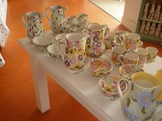 Specials at Collectors Days #pottery @Emma Zangs Bridgewater