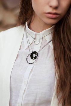 monaco / sister necklaces by caroline mcgrath   notonthehighstreet.com