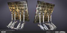 ArtStation - Call of Duty: Ghosts | Jet Blast Deflector Panels, Katie Sabin