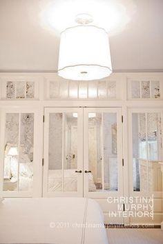 ... Closet Interiors : Mirrored Closet Doors On Pinterest Sliding ...