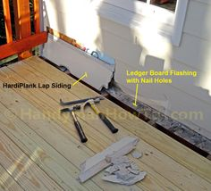Ledger Board Attachment To Brick Siding Decks Com Home