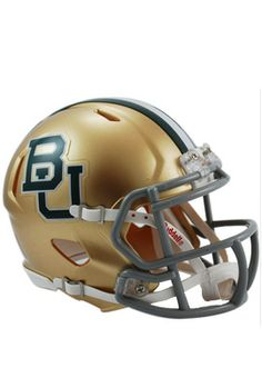 Great way to show #Baylor pride at the office! // #Baylor University Football Helmet ($29 from Baylor Bookstore)