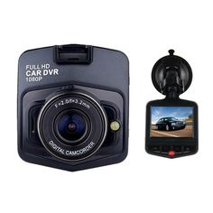 """With this GT300 1080P 2.4"""" Car Video Recorder with 120 Degree View Angle / Night Vision / G-Sensor Motion, you can record all the image and sound during driving! It is helpful to provide evidence if any traffic accident occurs, enabling grounded and reasonable analysis. You can also use it to record all details during driving for memory. Supportive for TF card up to 32GB, it can store large amount of data, and the low power consumption ensures long service life, so you don't have worry about…"""