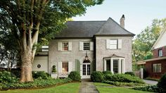 A Charming Restoration - Southern Living - Architects Paul Bates and Jeremy Corkem of Bates Corkern Studio bring life back to a traditional 1920s Charlotte, North Carolina, home.