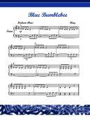 Piano Score Blue Bumblebee