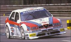 Alessandro Nannini, racing the Alfa Romeo Touring Car Fast Sports Cars, Sport Cars, Race Cars, Alfa Romeo Gtv 2000, Alfa Romeo Cars, Carros Alfa Romeo, Cars For Sale Uk, Martini Racing, Best Muscle Cars