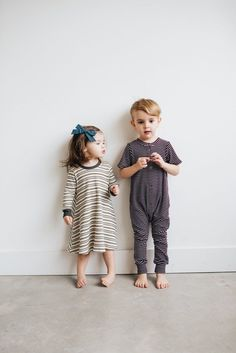 Cutest Kids| Kids Fashion| Handmade Kids Clothes| Stripe Dress| Long John Dress| Boho Kids| Kids Style| Kids of IG| the Everyday Dress in Olive – ewmccall