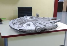 3ders.org - Gambody reveals how they designed and built an epic 236-piece 3D printed Millennium Falcon | 3D Printer News & 3D Printing News