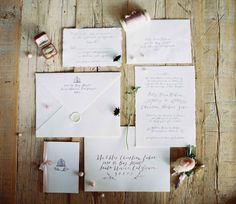Fall outdoor barn countryside wedding invitation suite. Plum ink with leaves and illustration. Calligraphy, design, and printing on arpa paper by Script Merchant Calligraphy & Design. Photography by Rylee Hitchner. Styling by Ginny Au. Florals by Rosegolden Flowers.