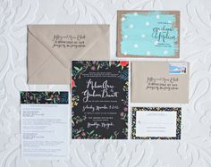papier fabrik: My Wedding Invitations & More by @Melissa Hardy