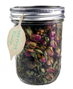Mom's Bliss Tea recipe—perfect for frazzled nerves or those in need of a mood boost