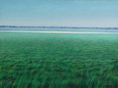 Tomás Sánchez (Cuban, b. 1948), CANAL, 1987. Oil on canvas, 30 x 40 in. (76 x 102 cm)