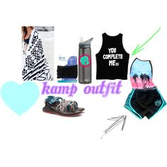 Dream kamp outfit by reb-beth on Polyvore featuring Chaco, Goody, Free People and CamelBak