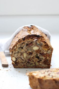 Home Bakery, Piece Of Bread, Brunch Recipes, Banana Bread, Dairy Free, Sandwiches, Recipies, Good Food, Veggies