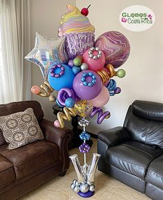 Birthday Balloon Decorations, Birthday Balloons, Birthday Parties, Balloon Gift, Balloon Garland, Balloon Display, Balloon Arrangements, Balloon Centerpieces, Valentines Balloons