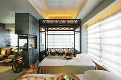mandarin period design images | An in room spa suite at Mandarin Oriental New York would suit urban ...