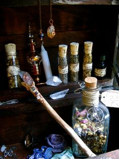 The Magical Trunk  Large Witch Kit by EireCrescent on Etsy, $89.99