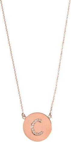 Roberto Coin 18k Diamond Paw Disc Pendant Necklace S8ydZ3