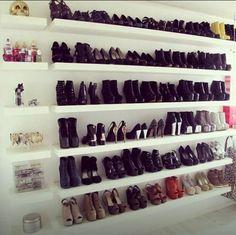 20 ideias pra organizar seus sapatos