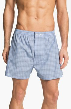 Nordstrom Classic Fit Cotton Boxers (3 for $38)   Nordstrom