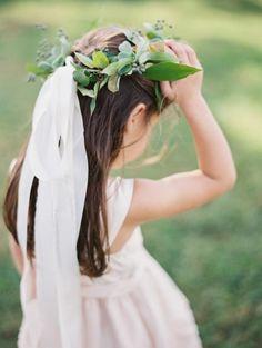 Sweet flower girl: http://www.stylemepretty.com/2015/04/16/colorful-charlottesville-virginia-wedding/   Photography: Laura Gordon - http://lauragordonphotography.com/