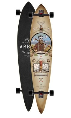 Carver skateboard by Arbor, perfect for a ride by the beach