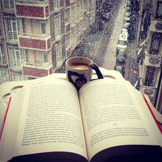 Reading time, what rainy days are made for