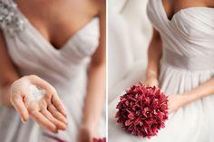 Production - www.bemyvalentine.pl, www.subobiektywna.pl Photographers - www.subobiektywna.pl, www.wedding-movies.pl Bridal bouquet - Justyna Stachowska from www.projektkwiaty.pl Model - Karolina Górak Dress - Vera Wang from www.sukniemarzen.pl  Armchair - meblolight.pl #verawang #bride #pannamloda #crystals #weddingdress #wedding #slub #sukniaslubna #warkocz #bouquet #bukiet #marsala #orchid #storczyk