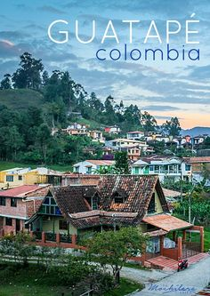 Guatapé, Colombia, just over an hour's drive from Medellin, is the perfect place… Visit Colombia, Colombia Travel, Ecuador, Travel And Tourism, Travel Destinations, The Places Youll Go, Places To Visit, Peru, Travel Tips