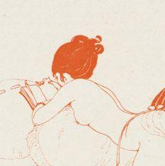 Art Deco by Gerda Wegener Botanical Illustration, Illustration Art, Tamara Lempicka, Art Nouveau, A Dance With Dragons, The Danish Girl, Figure Drawing Reference, Vintage Artwork, Erotic Art