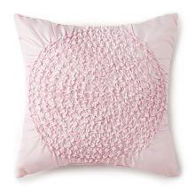 Levtex Baby Willow Ruche Pillow  Pink